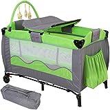 Infantastic Kinderreisebett Babyreisebett mit Babyeinlage, inkl....
